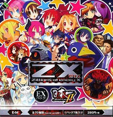 ゼクスEX4弾「日本一ソフトウェア2」のボックス画像