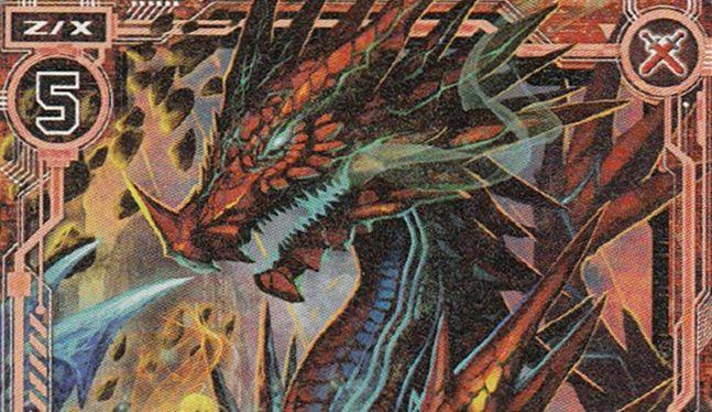 キャラクターパック第4弾収録の「剛腕斬刃オリハルコンティラノ」の描き下ろしカードイラストが公開!