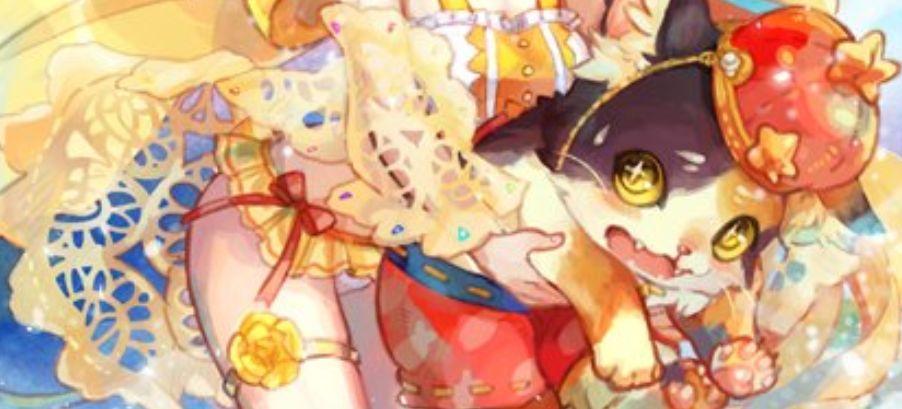 海辺のだらだら猫ミケ(第25弾【明日に輝く絆】収録)のカードイラストが公開!