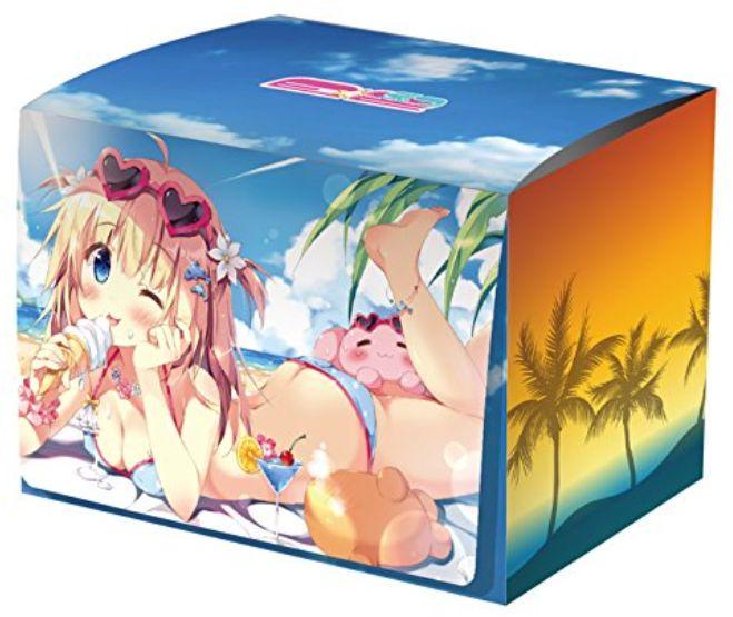 デッキケース「オトナSUMMER♪」がEXパック12弾「E☆2」と同時発売!ぱん先生が描く美麗イラストのキャラクターデッキケースコレクションMAX!