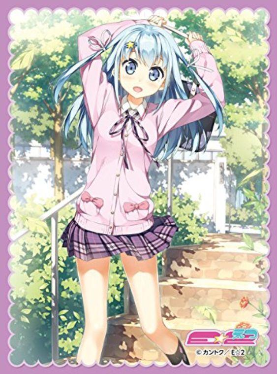 キャラクタースリーブ「えつみん」(EXパック「E☆2」と同時発売されるカントクさんのイラストスリーブ)