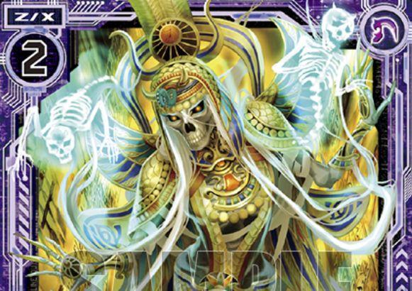 怨恨の女帝スカルエンプレス(ゼクス第26弾「境界を断つ剣」レア収録)が公開!このカードやディンギルの登場時に誘発する2つの【自】能力を持つノスフェラトゥ・ゼクス!
