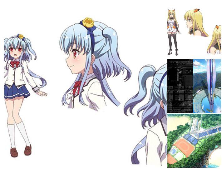 TVアニメ「Z/X Code reunion」キャラクターデザインが一部公開!
