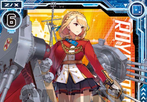 プリンス・オブ・ウェールズ(ゼクス「EXパック14弾 アズールレーン」レア収録)が公開!ユニオン関連の2つの【常】能力を持つロイヤルの戦艦ゼクス!