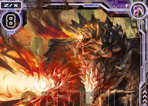 緋の爆炎シャルラハロート(第27弾「未来の叙事詩」レア収録)が公開!トラッシュからスクエアに登場する能力を持ったコスト8のプレデター・ゼクス!