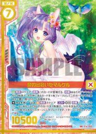 泉の出会いセマルグル(SR:EX16弾 ちびドラ)カード画像