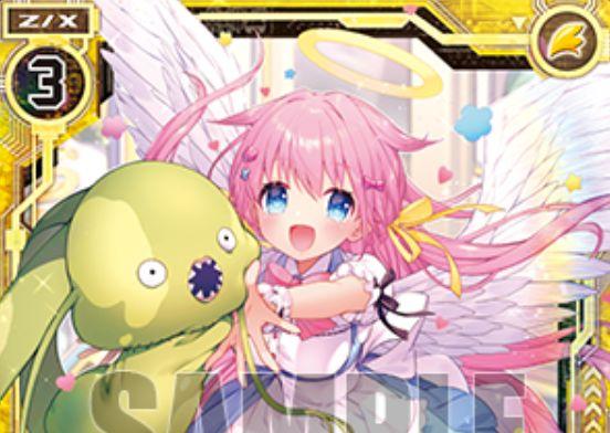 """""""可愛い""""ハンター ミーリィ(レア:EX17弾 サマーステージ!!)が公開!プレイヤーが「ミーリィP」なら2つの能力を得るエンジェルのスタートカード!"""