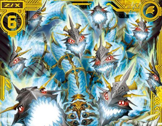 醒覚せし超幻 九頭竜(SR:第29弾 夢を継ぐ星々)が公開!イグニッション関連の2つの能力を持ったスーパーレア・セイクリッドビースト!