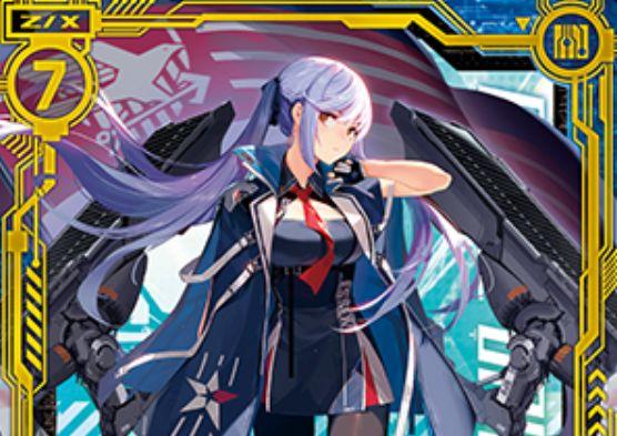 エセックス(SR:EXパック20弾 アズールレーン2)が公開!ユニオン&空母のスーパーレア・ゼクス!