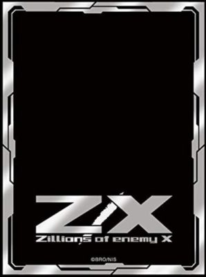 エンジョイシルバー(Z/Xのカード裏面をそのまま再現したスリーブ)