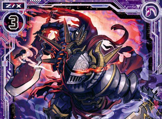 黒剣八魂 悪逆のマルディシオン(ノーマル:第32弾 夢装イデアライズ)が公開!プレイヤーが「イリューダ」ならスクエア登場時の【自】能力を得るマルディシオン!