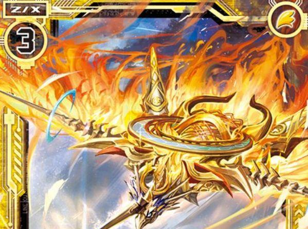 燃え盛る輪廻フォスフラム(ノーマル:第32弾 夢装イデアライズ)が公開!プレイヤーが「さくら」なら【常】と【自】能力を得るフォスフラム!