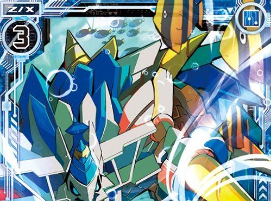 蒼き幼竜ヘリカルフォート(レア:EX21弾 もえドラ)が公開!プレイヤーがユイならスクエア登場時の【自】能力を得るギアドラゴン!