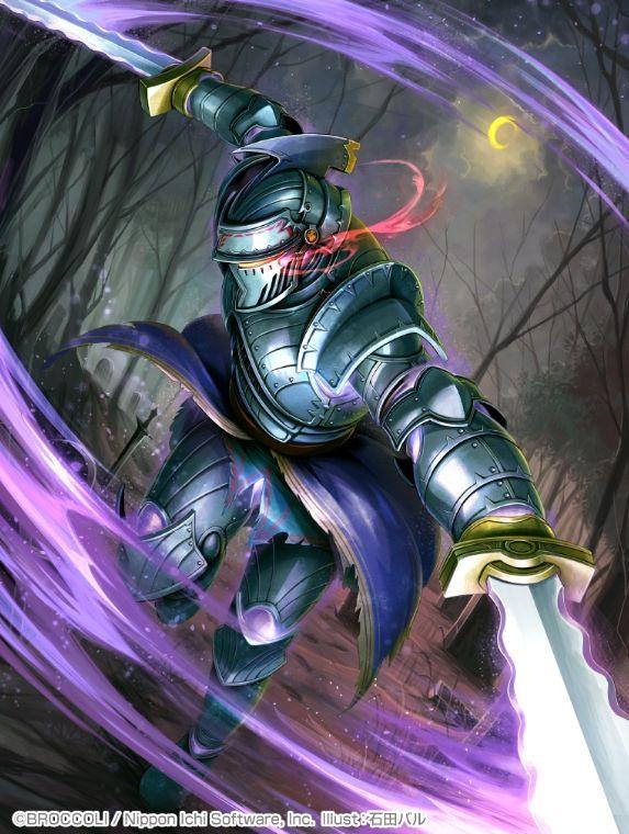 イラスト:黒剣兵 回り踊るギラール(ゼクス第34弾「夢幻イデアドライブ」収録)