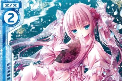 桜の精霊 雪月華舞(書籍「えつぷら Vol.5」付録PRカード)が公開!はるかぜせつな先生が描く青のE☆2ゼクス!