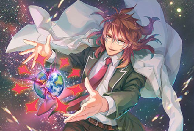 BISAI先生が描く、【鍵誓『宇宙』】神門(EXパック25弾「ミラクル!オール☆ゼクスターズ」収録)のカードイラストが公開!