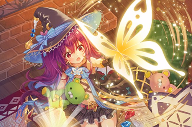 芹野いつき先生が描く、胡蝶の魔導姫 ネイ(EXパック25弾「ミラクル!オール☆ゼクスターズ」収録)のカードイラストが公開!