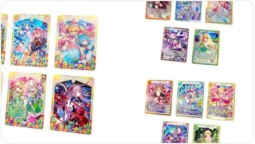 【シークレット】ゼクス「EXパック24弾 ジェネレーションX」のシークレット仕様カード画像(実物)がゼクス公式Twitterにて公開!