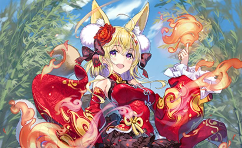 さんば挿先生が描く、仙術極めし妖狐 センコ(第35弾「想星キュレーション」収録)のカードイラストが公開!