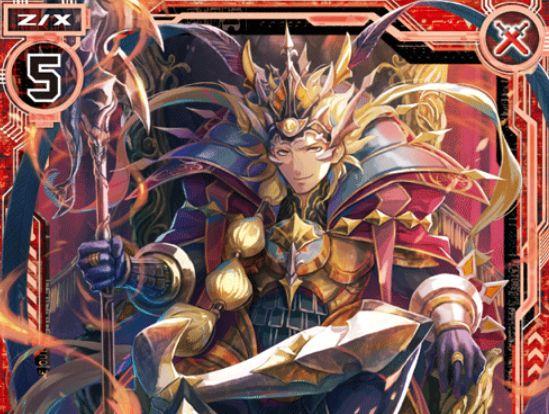 覇道を歩む英雄 アレキサンダー(レア:EX25弾 ミラクル!オール☆ゼクスターズ)が公開!プレイヤー「神門」で【常】と【自】を得るブレイバーのゼクス!
