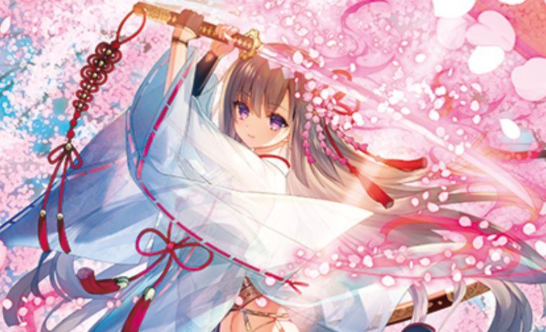 湯浅彬先生が描く、剣舞の式神 桜(第35弾「想星キュレーション」収録)のカードイラストが公開!