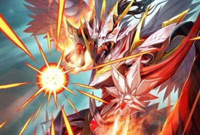 かんくろう先生が描く、皇帝竜【先導】ロードクリムゾン(EXパック27弾「ドラゴンカジノへようこそ!」収録)のカードイラストが公開!